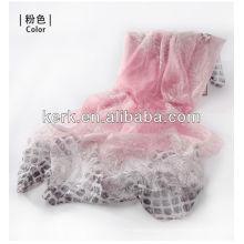Fashion Promotional Women 100% Polyester Scarves/ Shawls/Hijab,W3015