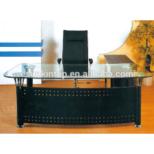 Mobiliário de mesa de vidro de escritório pitoresco, móveis de escritório para alta qualidade! (P8061)