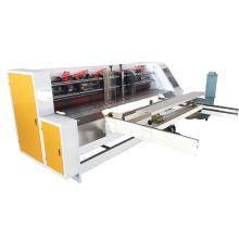 Corrugated Cardboard NC servo thin blade slitter scorer machine Carton box making machine