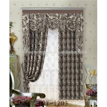 Nouveau tissu de velours jacquard à la mode pour rideaux d'église