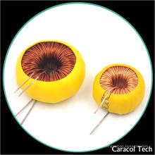 Variável bobina magnética Ferrite Core Choke Inductor 100mh para PCB Board