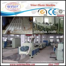 tubería de plástico línea plástico pvc upvc tubo estirador