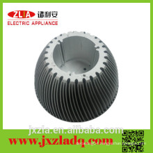 High precision extruded aluminum heatsink, led light radiator