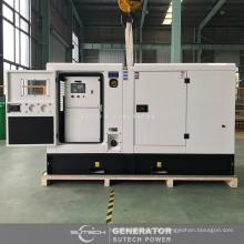 Beigefügt 75 kva stille Dieselaggregat mit CUMMINS Motor 4BTA3.9-G11 angetrieben