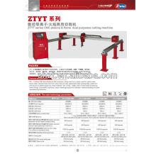 Gantry CNC plasma cutter for mild steel