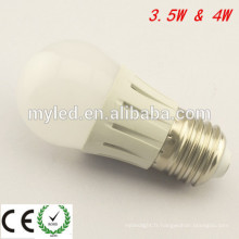 Ningbo 4w LED Bulb Low Decay G45 LED Ampoule E27 Dimmable LED Ampoules
