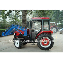 Small Front Loader on 25hp Tractor