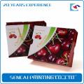 SenCai boîte de cadeau d'emballage en papier ondulé cerise