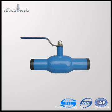 Material of carbon steel ball valve and fully of welding ball valve manual DN15-300