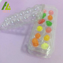 Compartments Plastic Candy Blister PET Tray