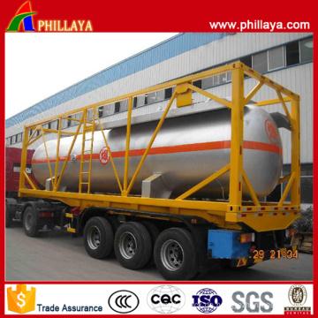 Heißer Verkauf 20ft oder 40ft LPG Tankcontainer