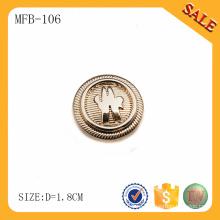 MFB106 Настроить золото удалить металлические кнопки джинсы оптовик