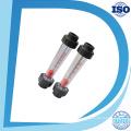 El cuadrado de acrílico ajusta el metro de flujo del panel del gas / del aire / del oxígeno con el buen rotámetro de la válvula