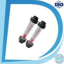 como medidores de flujo de agua de tubería de vidrio de plástico