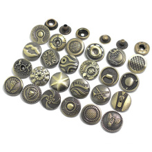 Hot selling 17mm Accessories And Rivets Custom Logo Metal Tack Jeans Snap Button For Jeans