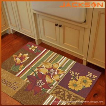 Estilo antigo lindo tapete de cozinha