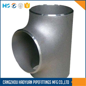 ANSI B16.9 SS316L Pipe Fittings Tee