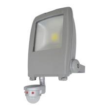 Nuevo PIR Sensor 100lm / W 70W Paisaje COB LED Lámpara de inundación Luz