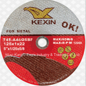 125X1X22mm Super Thin Cutting Disc for Metal
