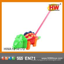 2015 Hot sale funny 36cm dinosaur push toy