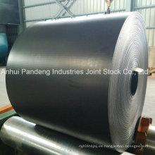 Correa industrial de banda transportadora de caucho resistente a los álcalis