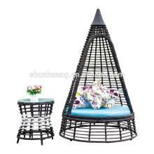 new design garden PE rattan sofa sets
