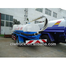 4000L small suction-type excrement tanker for sale