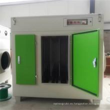 Equipo de purificación de fotólisis UV de gas de residuos industriales personalizados de alta calidad