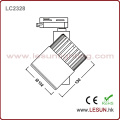 Brightness 15W COB Light Track with 2 Line Track LC2315n