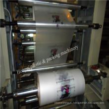 Двухцветная флексографическая печатная машина 21000