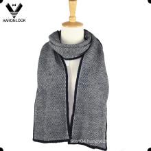 Fashion Acrylic Winter Warm Men Knit Scarf