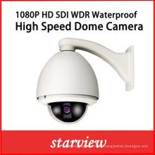 1080P HD Sdi WDR impermeable cámara de seguridad de alta velocidad domo
