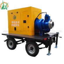 Moteur diesel mobile à grande taille ou pompe auto-amorçante électrique