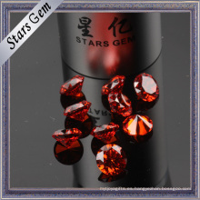 Color especial MID-Granate redondo cúbico Zircohnia CZ Stone