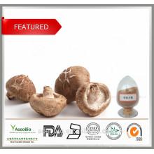 Polvo orgánico 100% natural del extracto de la seta de Shiitake de la alta calidad