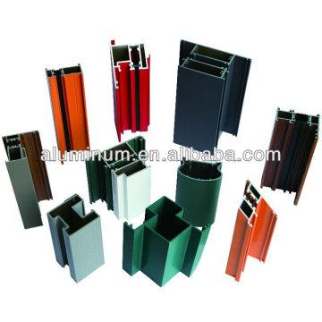 Aluminium Türprofil der Pulverbeschichtung