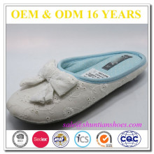 Winter indoor style warm woman slippers sell online
