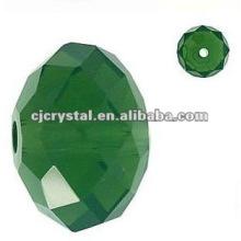 Grade A Dark Green Crystal Beads