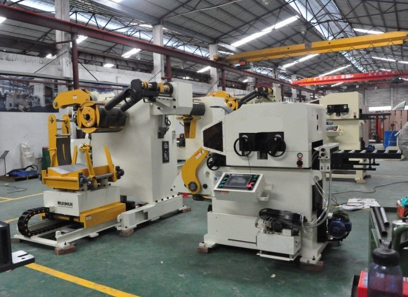 Automatic Press Line Uncoiling and Feeding Machine