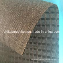 Geogrelha de poliéster com suporte geotêxtil não tecido para reforço do pavimento