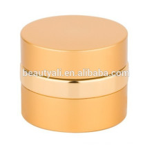 Fancy Round Aluminium Cosmetics Cream Empty Jar