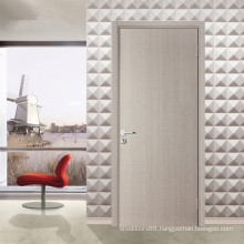 Inteiror Room White Modern Flush Wood Door with Frame and Hardware