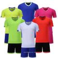 2017 jersey de fútbol nuevo modelo de diseño de alta calidad al por mayor uniforme de fútbol para niños