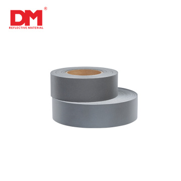 ISO15797 industrial washing Silver polyester reflective fabric tape for occupational workwear