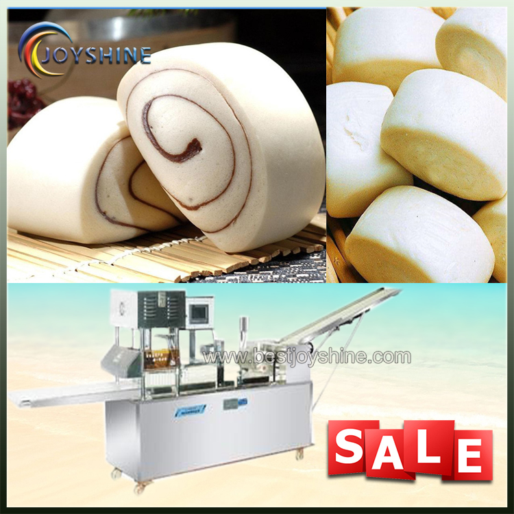 Automatic steamed bun bread making production line