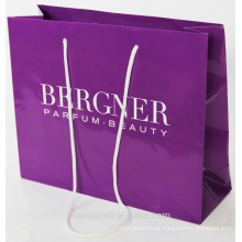 custom printed shopping paper bag