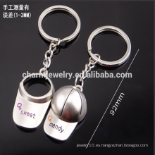 Barato modifican el llavero para requisitos particulares de la gorra de béisbol los hombres y las mujeres juntan el keychain pequeño llavero YSK001