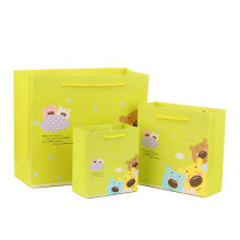 Custom Logo Print Extra Wide Base Large Packing Bakery Carry Shopping Paper Bags For Cake Box