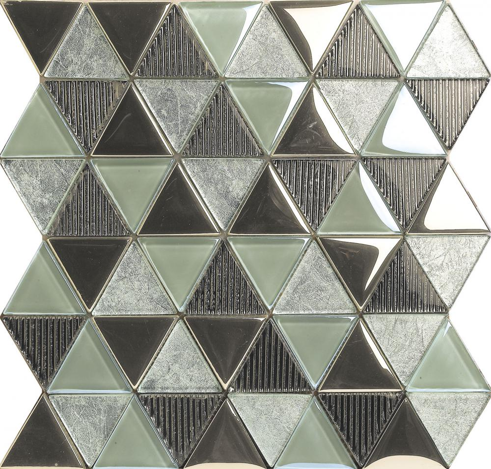 Little Triangle Chip Crystal Glass Mosaic