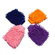 Eco-friendly microfibra de limpeza do carro luva / chenille luva luva luva de limpeza do carro luva / chenille luva de microfibra